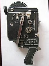 Swiss Bolex H16 Reflex 16mm Movie Camera Body - w/ Bolex Paillard Pistol Grip