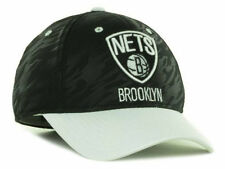 Brooklyn Nets Ball Cap Hat~Black  & White~ADIDAS~One Fit L/XL~NBA~Ships FREE