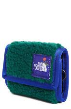 The North Face x Nordstrom Olivia Kim OK Base Camp Wallet Green Blue Fleece