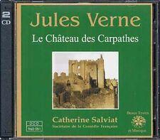 Le Château des Carpathes Jules Verne, lecture de Catherine Salviat CD, mus Liszt