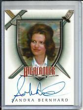 Sandra Bernhard Rittenhouse Highlander Autograph