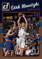 2016-17 Donruss Dallas Mavericks Basketball Card #77 Dirk Nowitzki