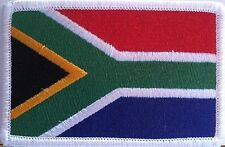 SOUTH AFRICA Flag Patch With VELCRO® Brand Fastener Military Emblem