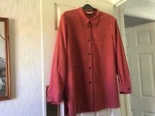 Ladies Skirt Suit Size 22 Coral