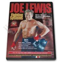Joe Lewis Full Contact Karate Fighting Broken Rhythm techniques sparring #9 DVD