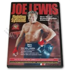 Joe Lewis Full Contact Karate Fighting Broken Rhythm techniques sparring #9 Dvd