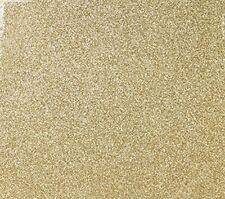 Gold Dovecraft Premium Glitter Cardstock A4 Sheet 300gsm Craft Card