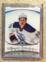 16-17 UD Upper Deck Ultimate RC Rookies Introductions #96 JESSE PULJUJARVI