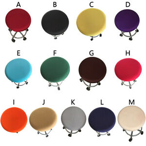 Chair Cover Bar Stool Cover Elastic Seat Cover Home Chair Cushion Cover Hot