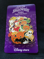 Japan Disney DEVIL DAISY & SKELETON DONALD DUCK Halloween Pumpkin LE 1600 Pin