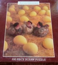 New Sealed Anne Geddes 550 piece jigsaw puzzle Baby Chicks Chickens Eggs 2312-7