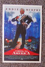 Coming to America Lobby Card Movie Poster Eddie Murphy #1