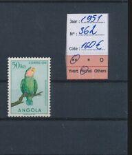 LM39545 Angola 1951 birds animals fine lot MNH cv 160 EUR