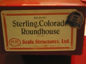 Scale Structures Ltd - Roundhouse - Kit #1121 - HO Scale