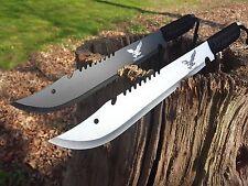 2 unidades machete cuchillo Knife Bowie busch cuchillo coltello Hunting macete machette