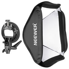 """Neewer Collapsible 24x24"""" Softbox with S-type Bracket Mount for Speedlite Flash"""
