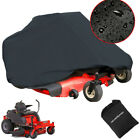 """Waterproof 82"""" Riding Zero Turn Lawn Mower Cover Tractor Outdoor Protection Yard"""