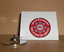 Devon & Somerset Fire and Rescue Service Lapel pin badge