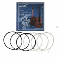 Guitar String Black Silver Nylon Plated C103 028-043 For Classic 6 string