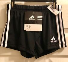 NWT! ADIDAS GYMNASTIC RUNNING PERFORMANCE COMPETITION GK SHORTS BLACK CHILD L