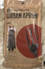 Chef Works Urban Apron Pewter New