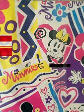 New listing Vintage Cleo Gift Wrapping Paper Mickey Mouse Minnie Quality Heavyweight