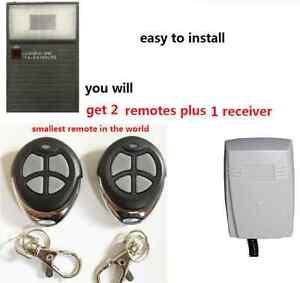 Gliderol Garage Door Remote Upgrade Kit For Glidermatic Deluxe Motors 2 remotes