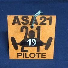 Rare Badge 1960 PILOTE 24 ASA 21 !!!!