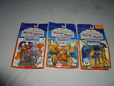 NEW IMAGINATIONS MOVIE MINIS MUPPET DIE CAST FIGURE LOT GONZO FOZZIE ANIMAL NOC