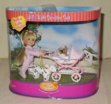 Li'l Kids Doll & Stroller Set & Dogs Only Hearts Club NEW