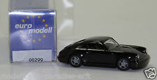 Euro Modell 1:87 00299 Porsche Carrera schwarz (H 649)