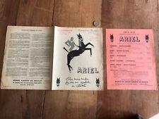 catalogue brochure ancien moto numéro 11 1955 ariel