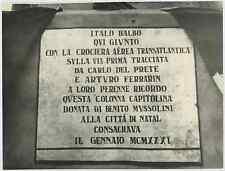 Italia, Italo Balbo, politico, generale e aviatore italiano Vintage . Tirage pos