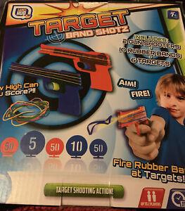 Elastic band gun Target Game