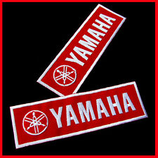 1 x Yamaha Advertising Patch Red Dj Embroidered Iron On Jeans Jackets Vests Hats