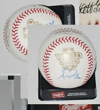 ANDRES TORRES signed 2010 WORLD SERIES baseball *SAN FRANCISCO GIANTS* W/COA #2