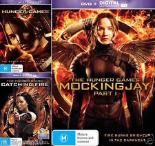 The Hunger Games : 1 - 2 - 3 Part 1 : NEW DVD