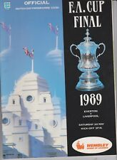 1989 F.A.Cup Final.Everton v Liverpool.