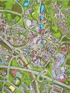 Cityscapes Street Map Of Telford 400 Piece Jigsaw Puzzle 47cm x 32cm
