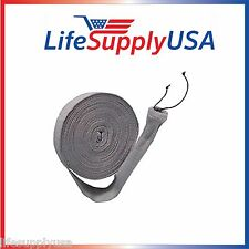 35 FEET CENTRAL 35FT VACUUM HOSE COVER SOCK VACSOCK WITH APPLICATION TUBE