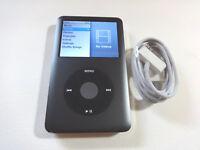 APPLE  iPOD CLASSIC 7TH GEN.  BLACK  160GB...NEW BATTERY...