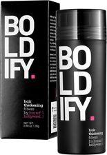 BOLDIFY Hair Fibres (DARK BROWN) Hair Thickener Fibres Completely Conceals Hair