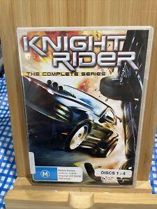KNIGHT RIDER Complete Series 1-4 DVD Region 4 Rare