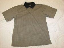 Mens GRAY POLO SHIRT Dressy Casual M 38-40 L 42-44 XL 46-48 2X 50-52 3X 54-56