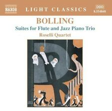 Claude Bolling, 34/3 - Suites for Flute & Jazz Piano Trio [New CD]