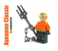 LEGO Custom - Aquaman Classic - DC Super heroes mini figure justice league