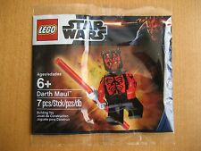LEGO Star Wars Darth Maul Minifig Polybag Promo New