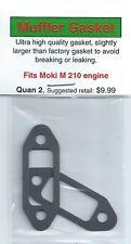 Moki M 210, M-210 Exhaust/Muffler Gasket 2 Pack NIP