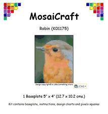 MosaiCraft Pixel Craft Mosaic Art Kit 'Robin' Pixelhobby