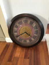 "26"" Diameter Wall Clock Roman Numerals"